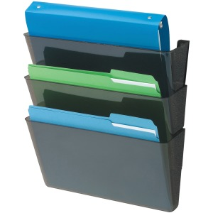 deflecto Recycled DocuPocket Wall Files