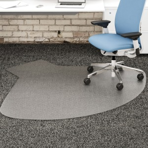 deflecto SuperMat Checkered Chairmat