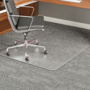 deflecto ExecuMat Wide Lip High Pile Chairmat