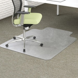 deflecto EnvironMat Standard Lip Low-pile Chairmat