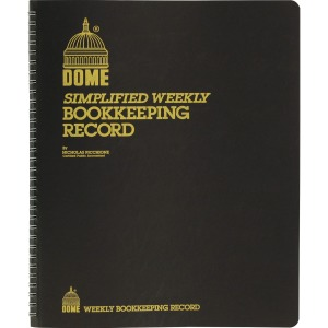 Dome Bookkeeping Record Book