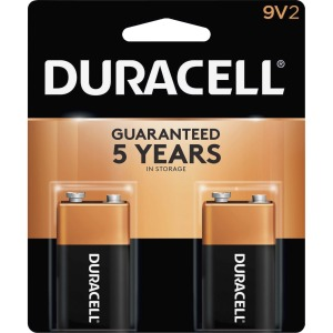 Duracell MN1604B2Z Alkaline General Purpose Battery