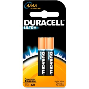 Duracell ULTRA Alkaline AAAA 1.5V Battery - MX2500