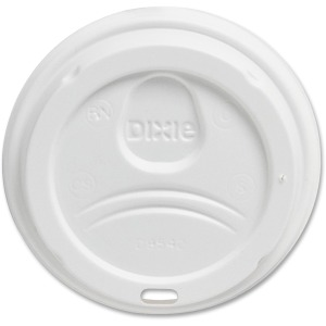 Dixie PerfecTouch Cup White Plastic Lids