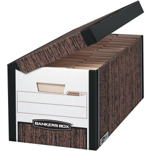 Fellowes Systematic® - Letter, Woodgrain