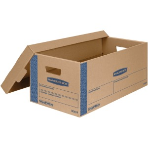 Bankers Box SmoothMove™ Prime Lift-off Lid Small Moving Boxes