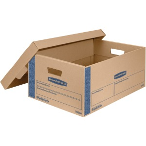 Bankers Box SmoothMove™ Prime Lift-off Lid Large Moving Boxes