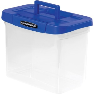 Fellowes Bankers Box Heavy-duty Portable File Box