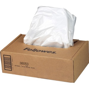 Fellowes Waste Bags for 99Ms, 90S , 99Ci, HS-440 and AutoMax™ 130C and 200C Shredders