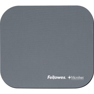 Fellowes Microban® Mouse Pad - Graphite