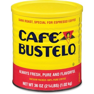 Café Bustelo Folgers Cafe Bustelo Espresso Ground Coffee