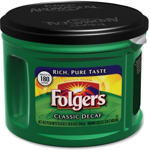 Folgers Classic Decaffinated Coffee