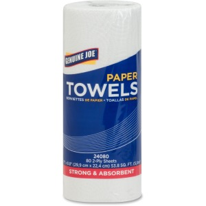 Genuine Joe 2-Ply Household Roll Paper Towels