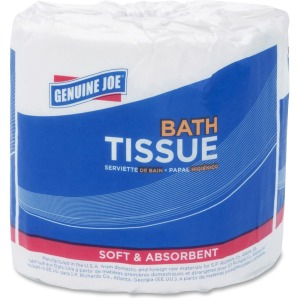 Genuine Joe Embossed Roll Bath Tissue