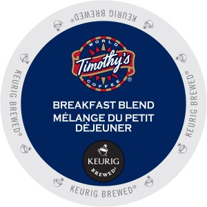 Timothy's World Coffee Breakfast Blend K-Cup