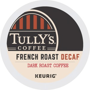 Tully's Coffee French Roast Decaf