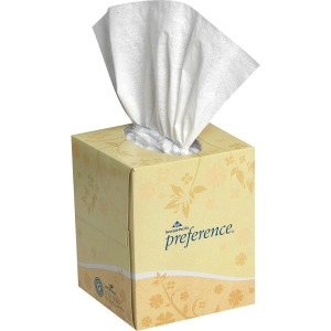 Georgia-Pacific Preference Cube 2ply Facial Tissue