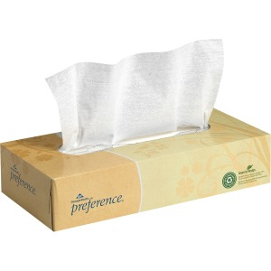 Georgia-Pacific Preference Flat Box Facial Tissue