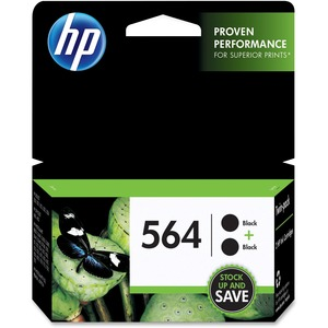 HP 564 2-pack Black Original Ink Cartridges