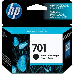 HP 701 Original Ink Cartridge - Single Pack
