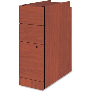 HON 10500 Series Henna Cherry Narrow Pedestal File