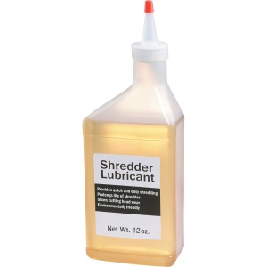 HSM Shredder Lubricant - 12 oz Bottle