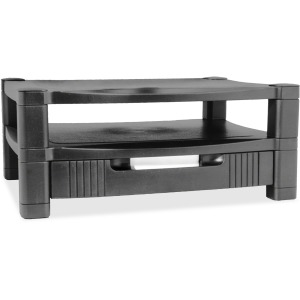 Kantek 2-Level Monitor Stand with Drawer