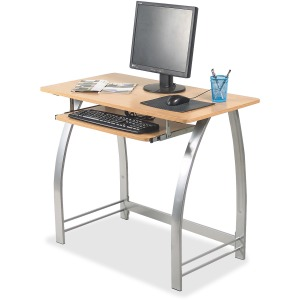 Lorell Maple Laminate Computer Desk