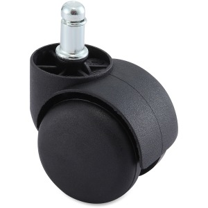 Lorell Hard Wheel Large Neck Brake Casters