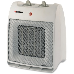 Lorell Adjustable Thermostat Ceramic Heater