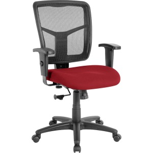 Lorell Managerial Mesh Mid-back Chair