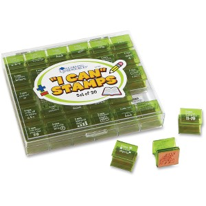 Learning Resources Gr K-1 I Can Stamps Set