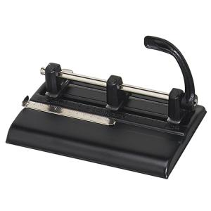 Master Heavy-Duty Adj Center 3-Hole Punch