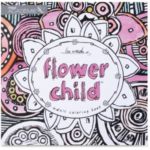 Mead Flower Child Adult Coloring Book Coloring Printed Book