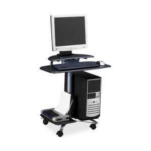 Mayline Mobile PC Workstation