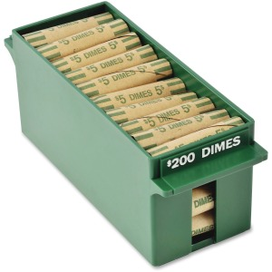 MMF Porta-Count Extra-cap. Dime Trays