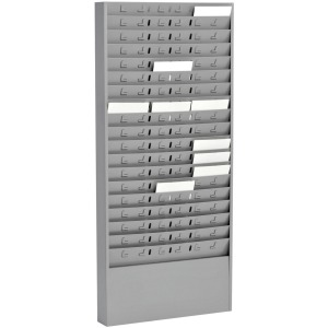 MMF Time Card 54 Pocket Message Racks