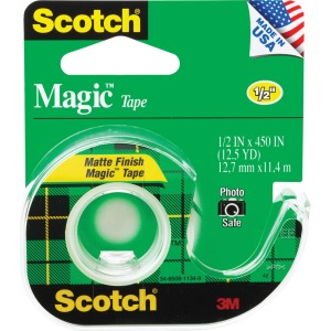 Scotch Magic Dispensing Matte Finish Magic Tape