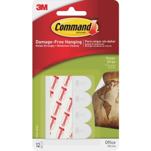 Command™ Small Poster Strips