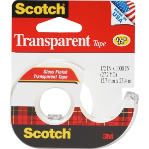 Scotch Transparent Tape Refillable Dispensers