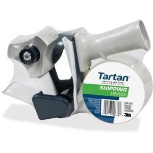 Tartan™ Shipping Packaging Tape with dispenser