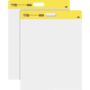 Post-it Self-Stick Easel Pads, 20 in x 23 in, White