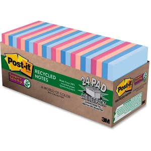 Post-it® Super Sticky Bali Notes Cabinet Pack