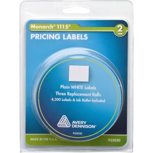 Monarch Model 1115/Alpha Pricemarker Labels