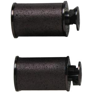 Pricemarker Ink Rollers,F/Models 1131 And 1136, 2/PK, Black