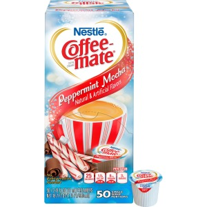 Nestlé® Coffee-mate® Coffee Creamer Peppermint Mocha - liquid creamer singles