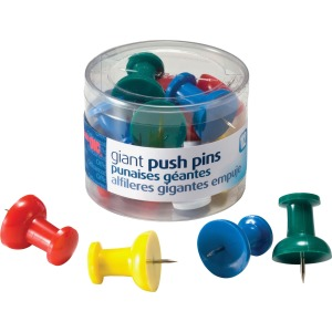 OIC Giant Push Pins
