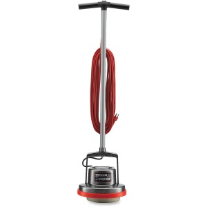 "Scrub Brush, Brush - 13"" Cleaning Width - Carpet, Bare Floor, Hardwood, Hard Floor - 50 ft Cable Length - AC Supply - 5.40 A - Silver"