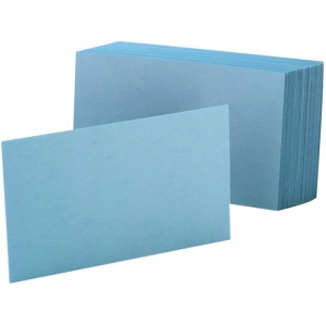 Oxford Colored Blank Index Cards
