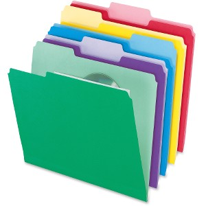 "Letter - 8 1/2"" x 11"" Sheet Size - 1/3 Tab Cut - Assorted Position Tab Location - Assorted - 30 / Pack"